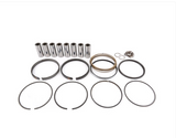 "MAHLE PISTONS - Motorsports Pistons Big Block Chevy PowerPak Piston & Ring Kit Forged 4032 High Silicon Low Expansion Aluminum Alloy,Bore: 4.560"" (BBC270560D13)"