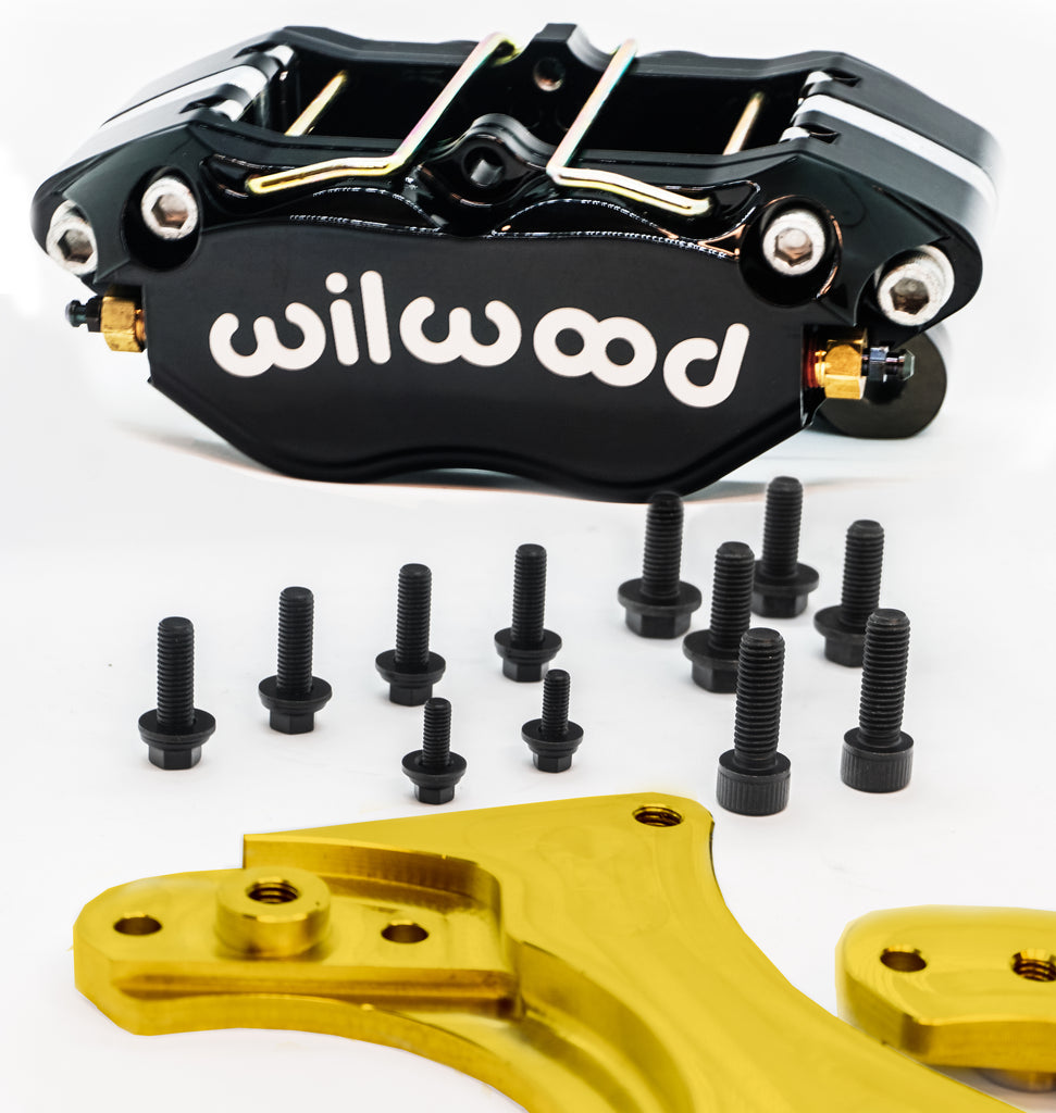 SLG - BMW E36 M3 Wilwood Dual Caliper Bracket Kit