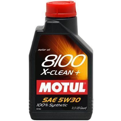 Motul - 5L Synthetic Engine Oil 8100 5W30 X-CLEAN EFE - Universal (107206)
