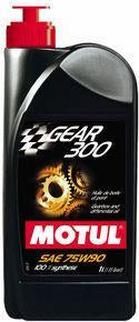 Motul - Transmission GEAR 300 75W90 - Synthetic Ester - 20L Orange Jerry Can - Universal (103994)