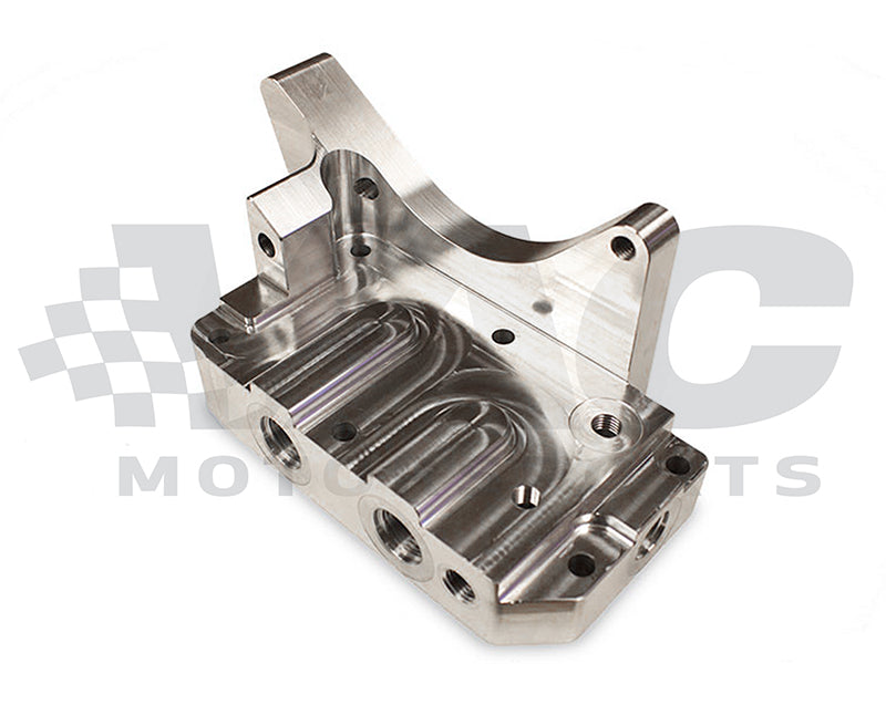 Vac Motorsport - VAC Billet Oil Filter Housing, Racing (BMW M50/M52/M54/S50/S52/S54) (VAC-BOFH-M50-WS)