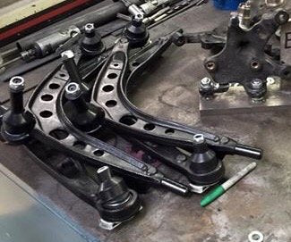 DRIFTKNUCKLES.COM - BMW 3-Series E36 Unicorn Angle Extended Lower Control Arms