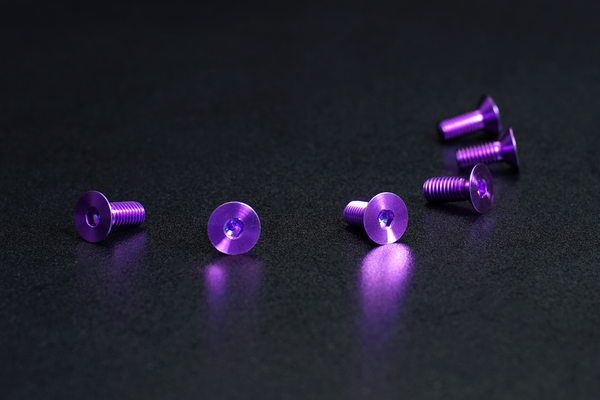 DND Performance Interior - Anodized Steering Wheel Screws