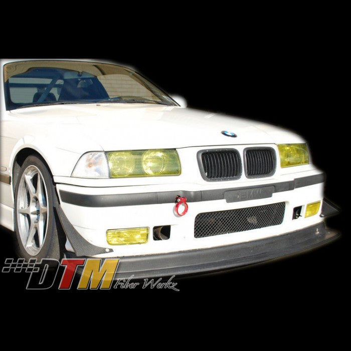 DTM Fiberwerkz - BMW E36 M3 Race Front Lip with Undertray