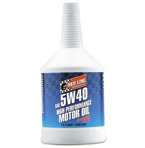 Red Line - 5W40 Synthetic Motor Oil - Universal (15404)
