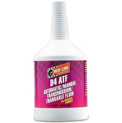 Red Line - Synthetic D4 Automatic Transmission Fluid - Universal (30504)