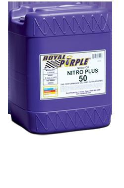 Royal Purple - Nitro Plus 60 Racing Oil (5 Gallon) - Universal (RYP-05960)