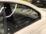 HARD Motorsport Polycarbonate Rear Windows - PAIR - BMW E46 Coupe