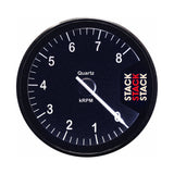 AutoMeter - TACHOMETER, CLUBMAN, 80MM, BLACK, 0-8K RPM (ST200-08)