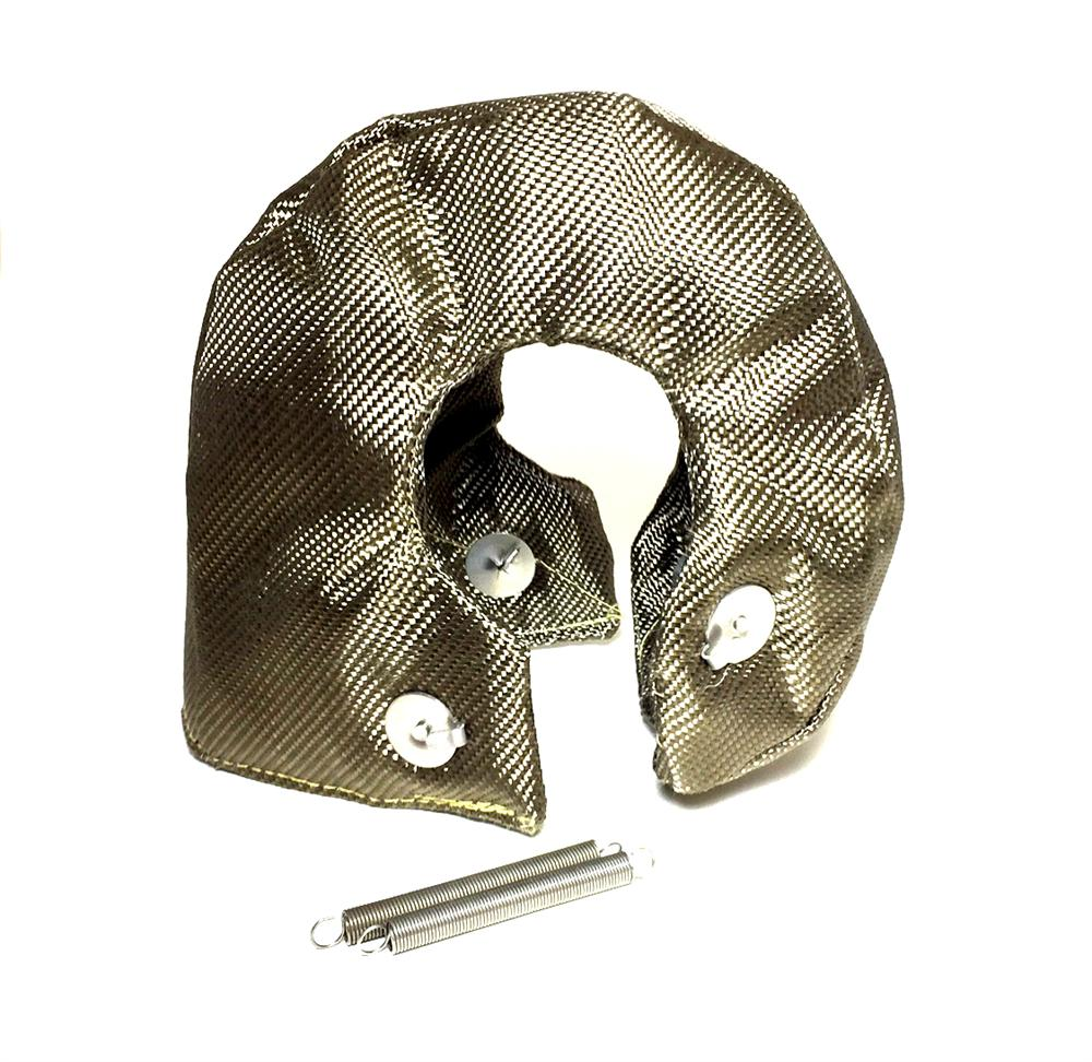 Pro Sport Gauges - Turbo heat Shield blanket T3-Titanium