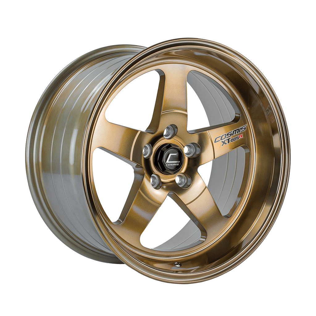 Cosmis Racing XT-005R Hyper Bronze Wheel 18x9 +25mm 5x114.3