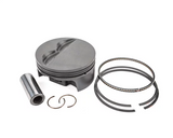 "MAHLE PISTONS - Motorsports Pistons Small Block Chevy PowerPak Piston & Ring Kit Forged 4032 High Silicon Low Expansion Aluminum Alloy,Bore: 4.155"" (SBC062155I22)"
