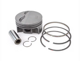 "MAHLE PISTONS - Motorsports Pistons Small Block Chevy PowerPak Piston & Ring Kit Forged 4032 High Silicon Low Expansion Aluminum Alloy,Bore: 3.796"" (SBC550796T01)"