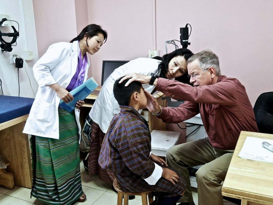 Luxureyes and The Himalayan Cataract Project
