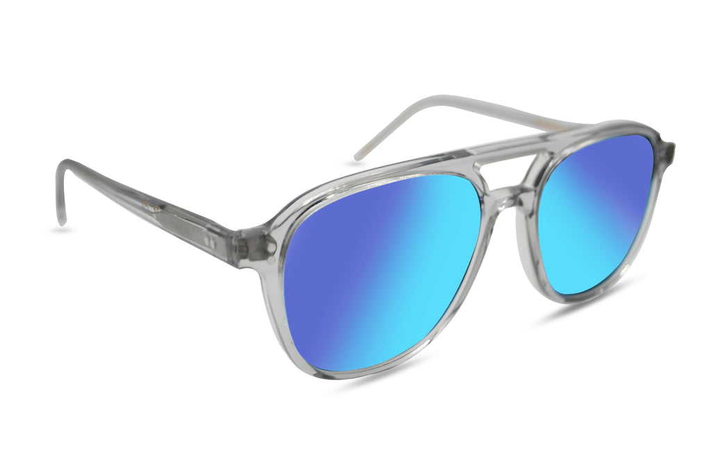 oakley blue mirror