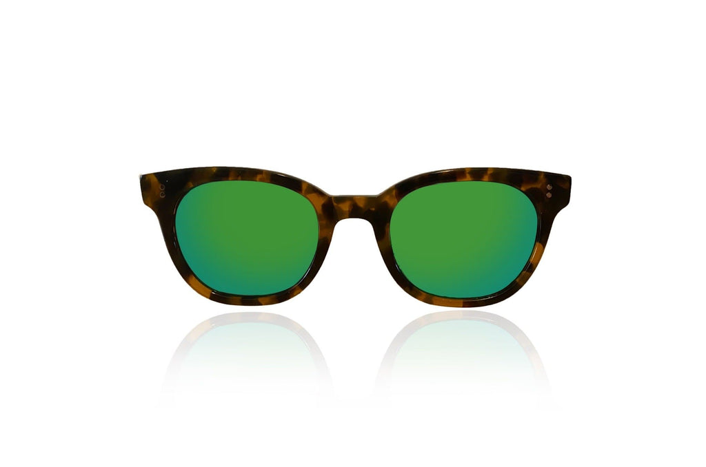 Green Mirror Sunglasses