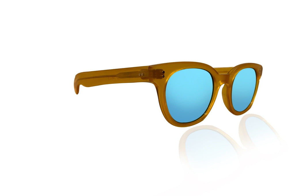 Blue Mirror Sunglasses