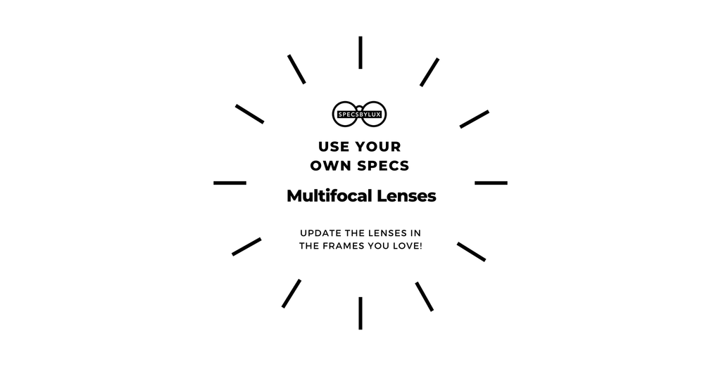Replace Your Lenses | USE YOUR OWN SPECS