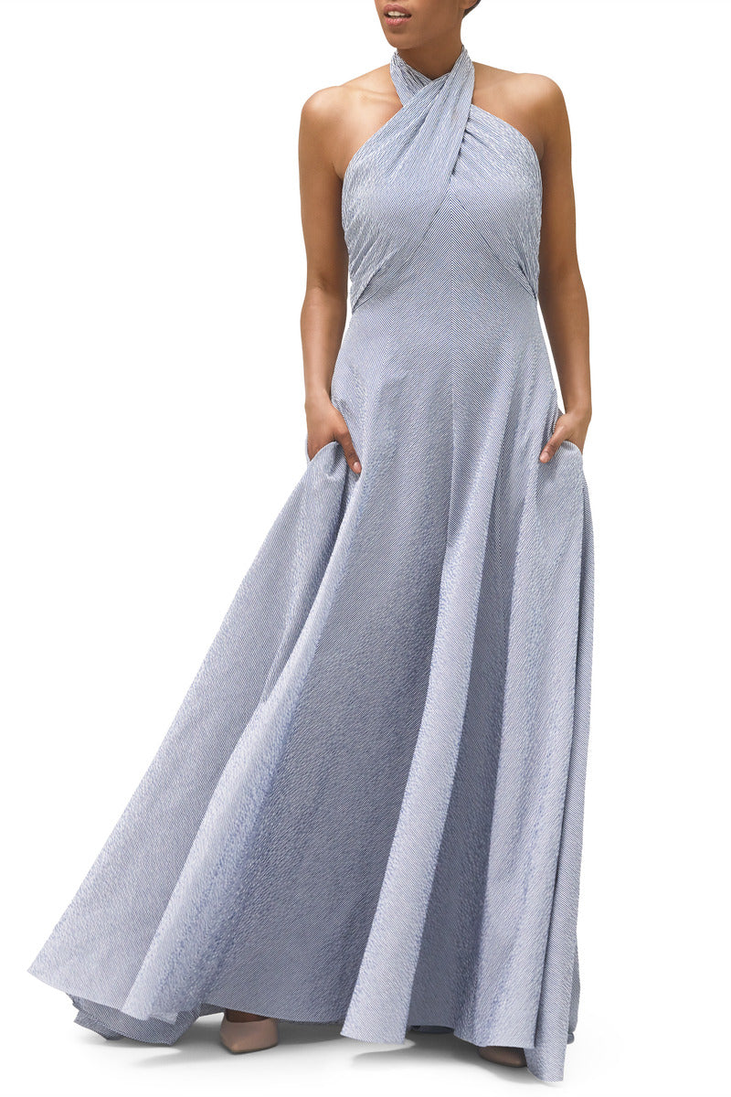 Gala Stretch Cotton Gown