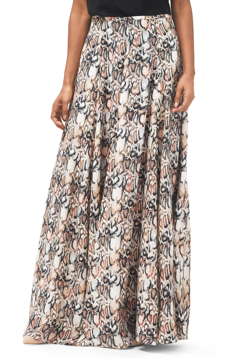 Simone Silk Maxi Skirt