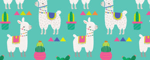 Llama & Cactus - Kiddies Party in a Box