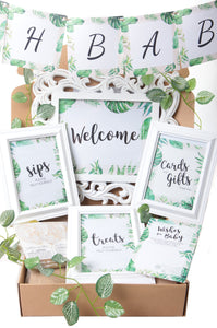Beautiful Botanics - Baby Shower Party in a Box