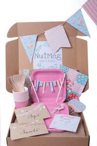 Shabby Chic - Baby Shower Party in a Box