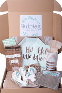 Hello World - Baby Shower Party in a Box