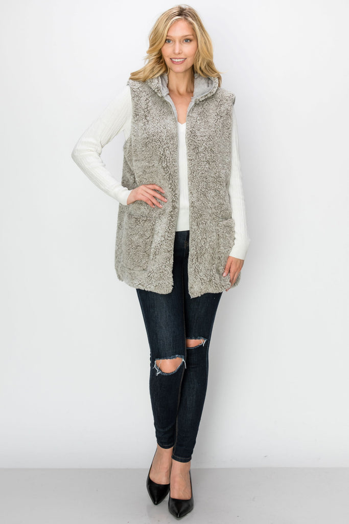 VST-3014-GRY| Outerwear
