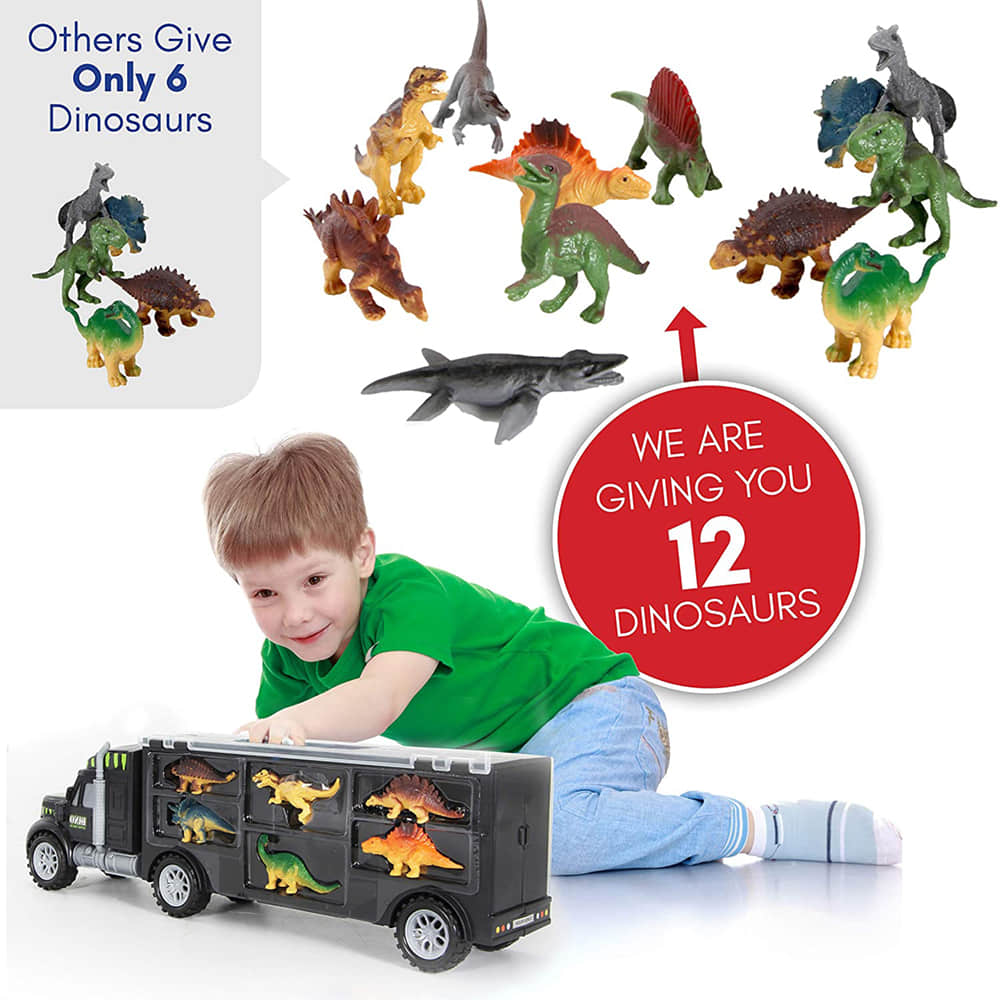 12 Toy Dinosaur Included