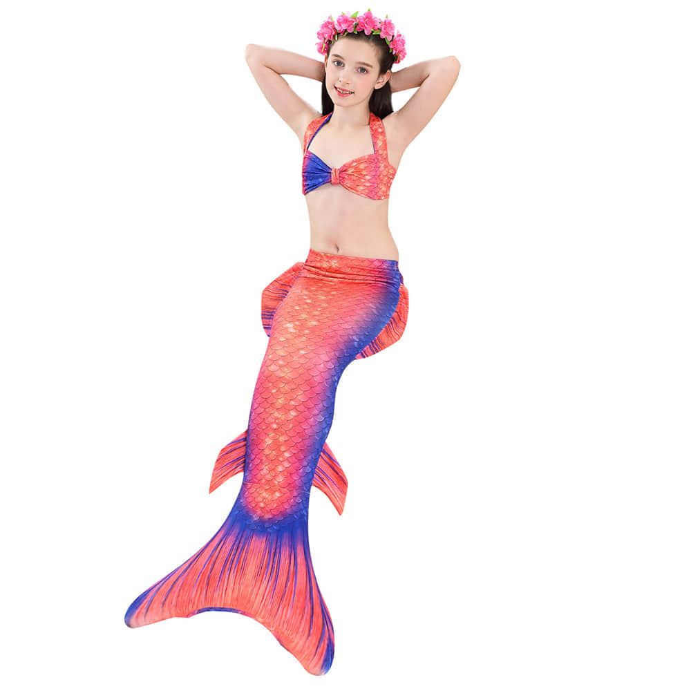 This Mermaid Tail is Suitable for Summer Mermaid Party