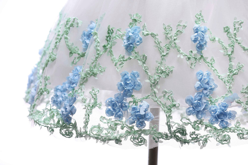 3d-lace-flower-on-the-skirt