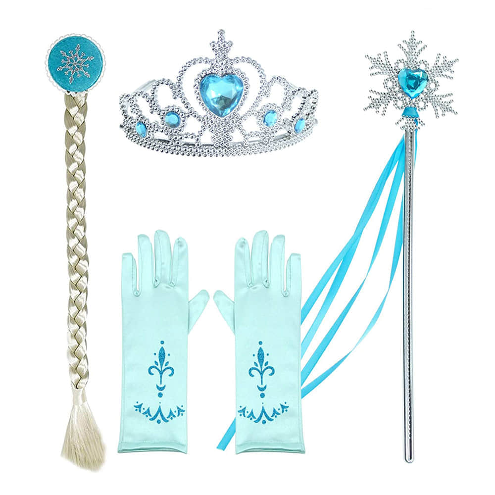 Get a Set of FREE Princess Accessories with the Dress