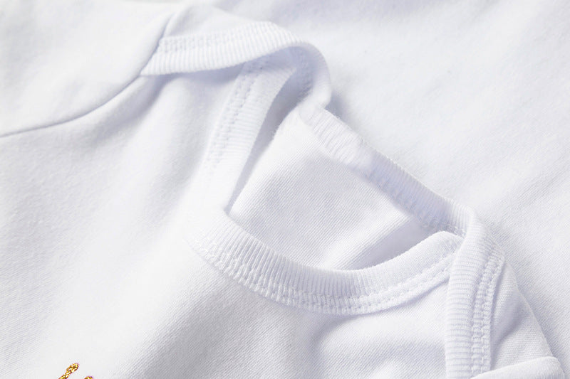 white soft comfortable cotton material