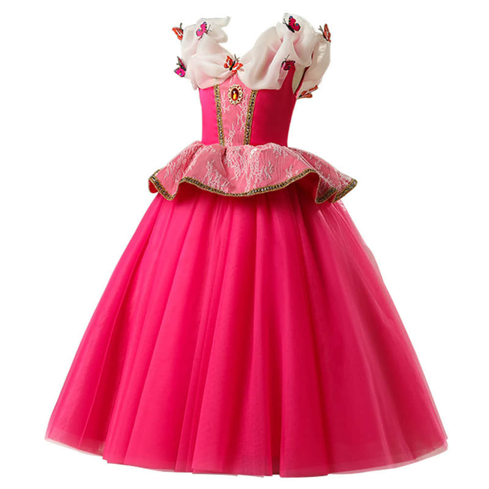 Birthday Pageant Long Gown Cosplay Dresses