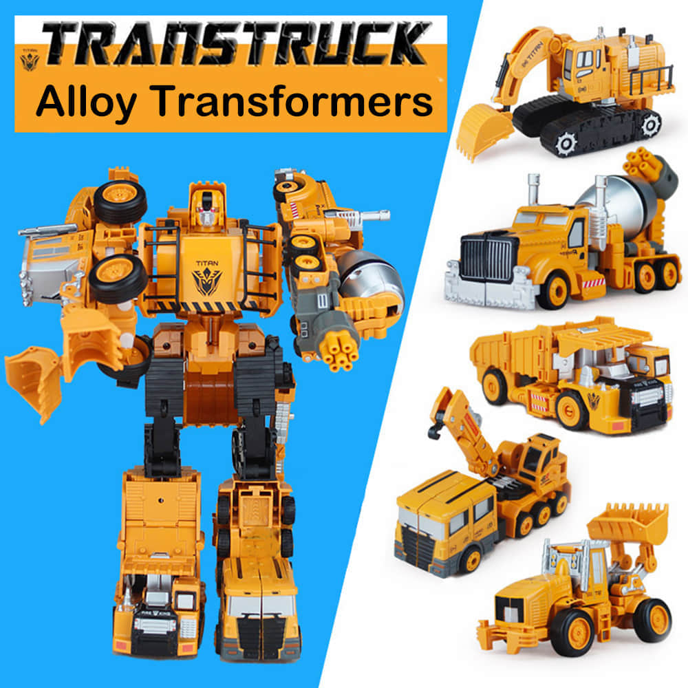 Durable and Child Safe Transformer Toys