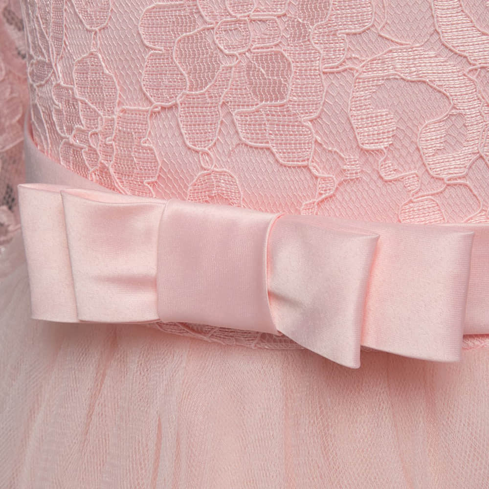 Slim Fitted Bodice Adorned with Big Bow