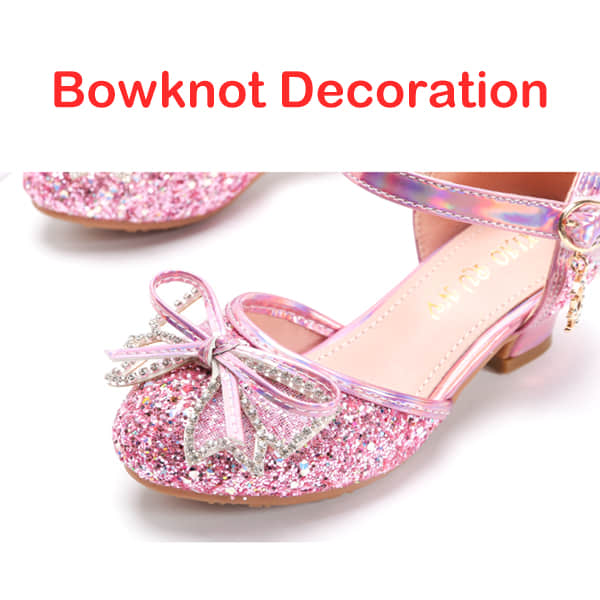 Flower Bowknot at Rear Make the Shoes Elegant