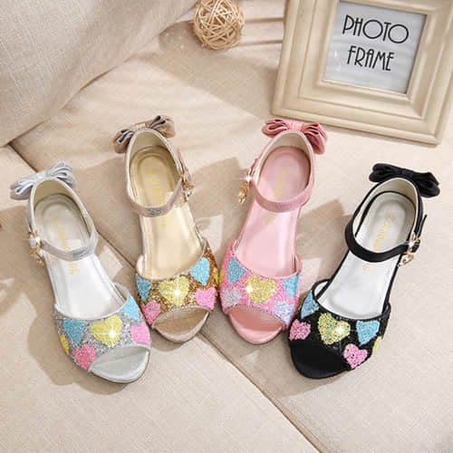 Girls Princess Cosplay Costume Mary Janes Sandals