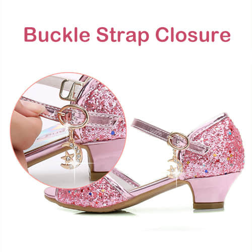 Strap Buckle Closure Easy to Take On and Take OFF