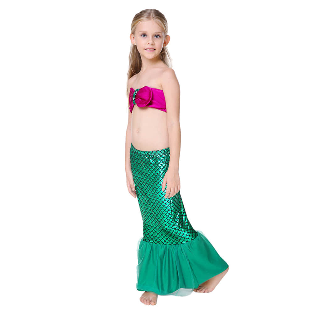 Girls Mermaid Cosplay Costume for Party Halloween