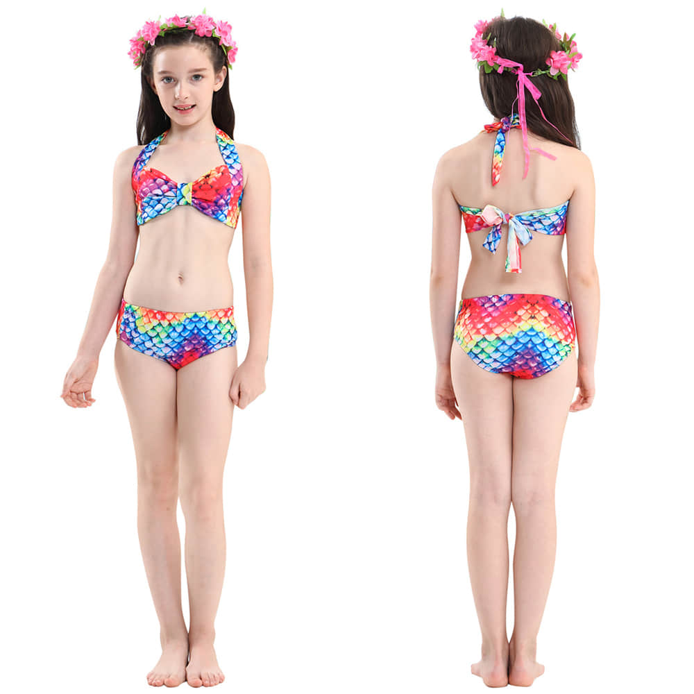 Vivid Multi-Color Beautiful Pattern Makes Your Girls Adorable