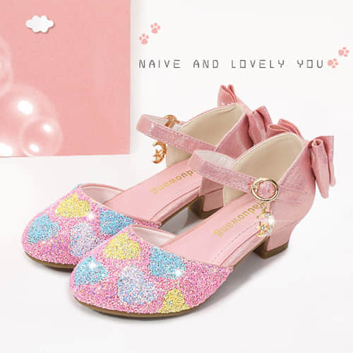 Girls Princess Cosplay Costume Mary Janes Shoes