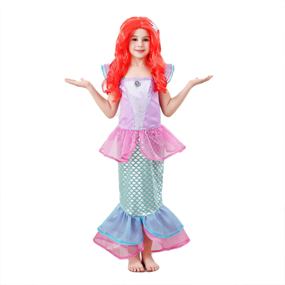 Your Little Girls Would be a like a Real Mermaid Princess with the Dress