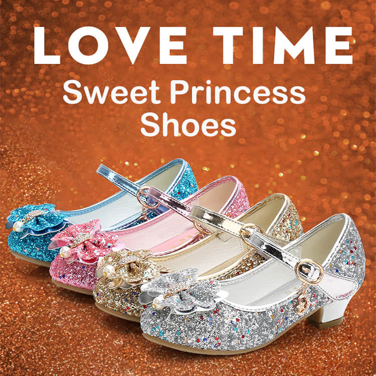 7 Colors Available for this Sweet Princess Shoes