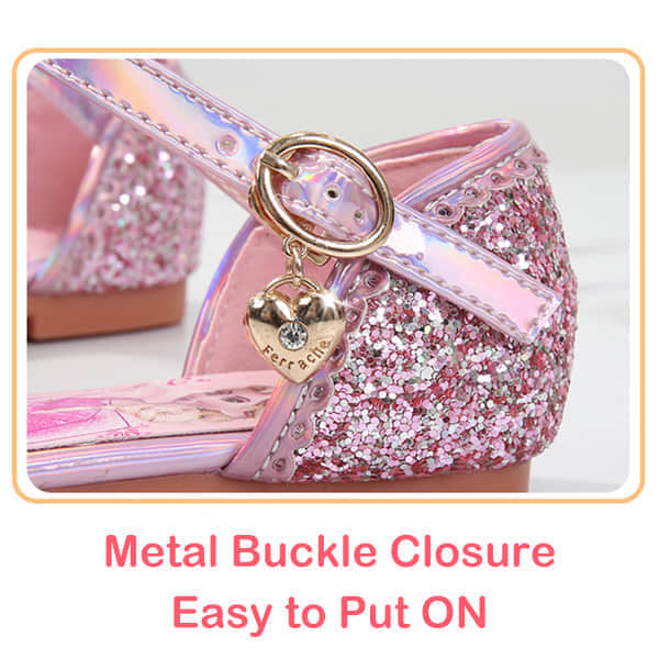 Buckle Closure Easy for Girls Kids to Get ON and OFF