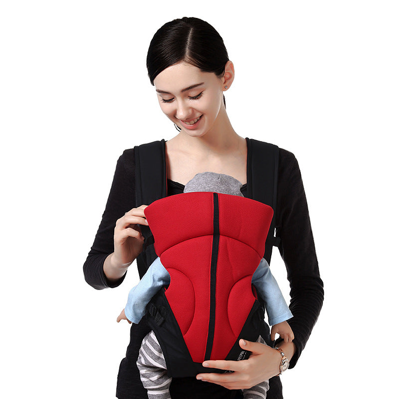 red_baby_carrier_breathable_mesh