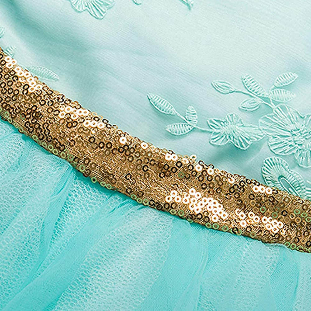 Sequins and Tulle Tutu Bodice