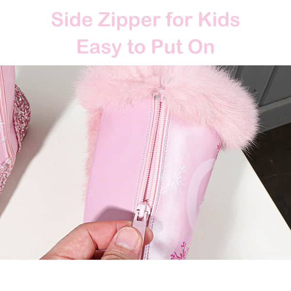 Side Zipper Design Easy to Put On