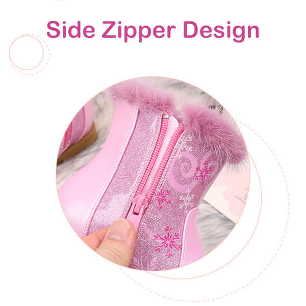 Side Zipper Easy to Put On